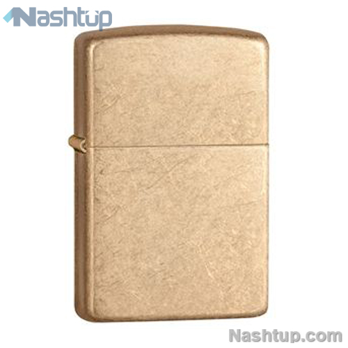 فندک زیپو مدل Armor Tumbled Brass برند Zippo کد 28496