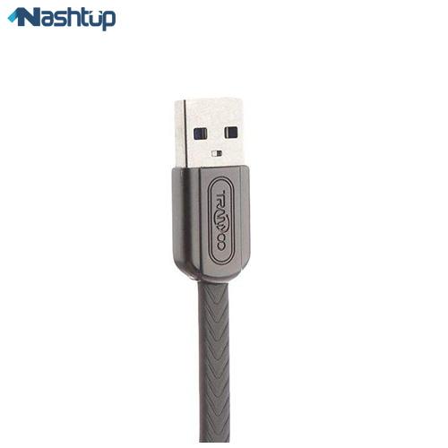 کابل تبدیل USB به MicroUSB ترانیو مدل X9 طول 1 متر