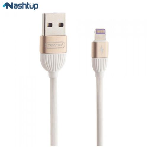 کابل تبديل USB به لايتنينگ ترانيو مدل S3 به طول 1.2 متر
