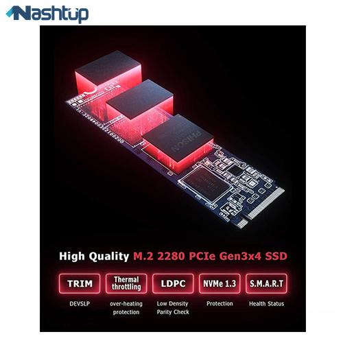 اس اس دی اینترنال پایونیر مدل APS-SE20G M.2 PCIe Gen3x4 ظرفیت 1 ترابایت