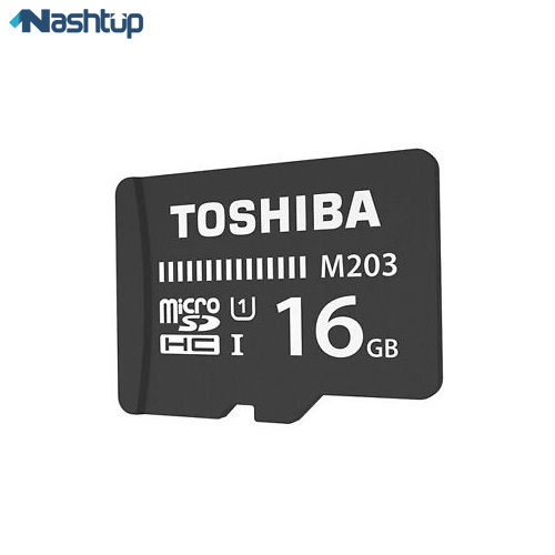 کارت حافظه MicroSD توشیبا 16G مدل M203