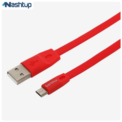 کابل تبديل USB به microUSB مدل dlc2518c طول 1.2 متر