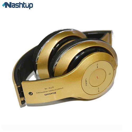 هدفون بی سیم بلوتوث دار STN-16 Wireless Headphon