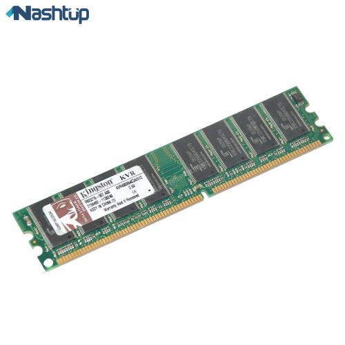 رم کامپیوتر کینگستون مدل KVR DDR 400MHz DIMM ظرفیت 512 مگابایت