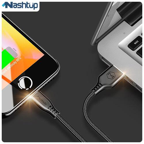 کابل تبدیل USB به لایتنینگ مک دودو مدل CA-515 طول 0.2 متر