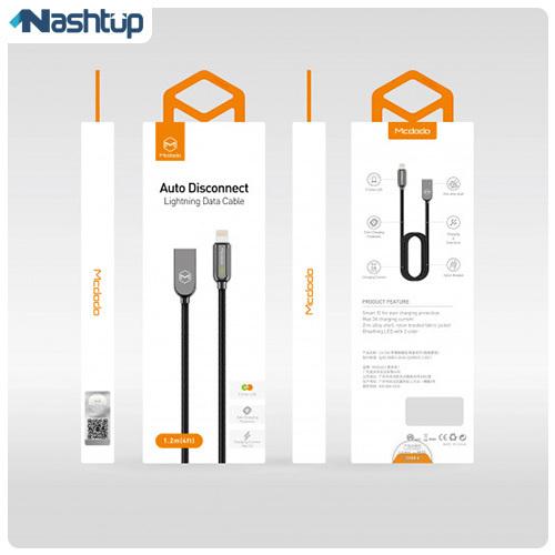 کابل تبدیل USB به لایتنینگ MCdodo مدل Ca-5261 طول 1.2 متر