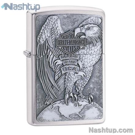 فندک زیپو مدل Made In USA Eagle برند Zippo کد 200HD.H231
