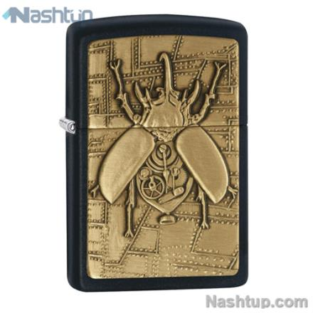 فندک زیپو مدل Steampunk Beetle برند Zippo کد 29567