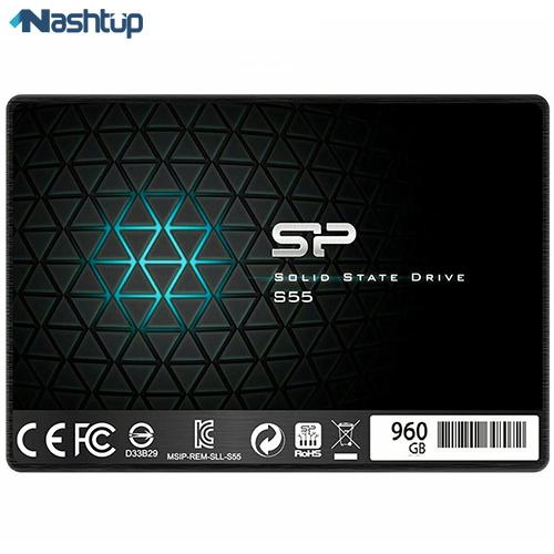 اس اس دی اینترنال سیلیکون پاور مدل Slim S55 ظرفیت 960 گیگابایت