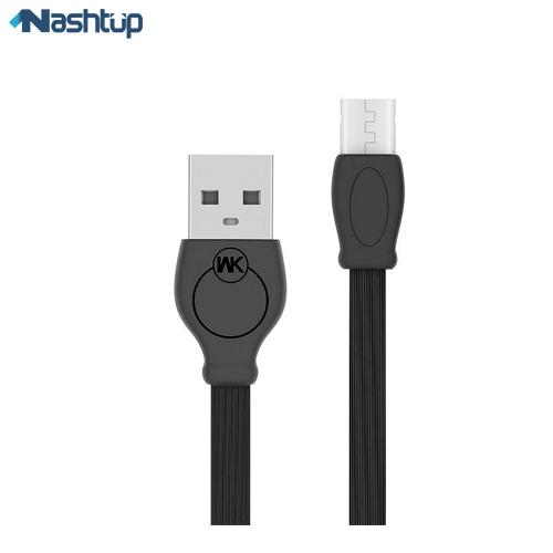 کابل تبدیل USB به microUSB دبلیو کی مدل WDC 023 طول ۲ متر