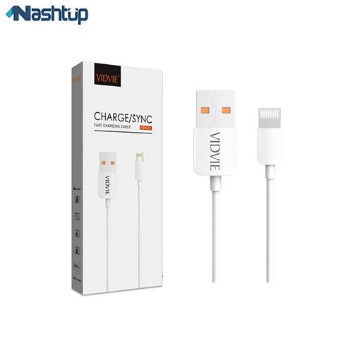 کابل تبدیل USB به لایتنینگ ویدوی مدل cb412 طول ۱ متر