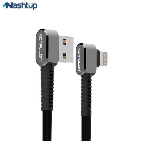 کابل تبدیل USB به لایتنینگ کانفلن مدل S74 طول 1متر