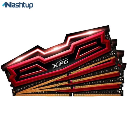 رم کامپیوتر ای دیتا مدل XPG Dazzle DDR4 2400MHz CL16 Quad Channel ظرفیت 64 گیگابایت