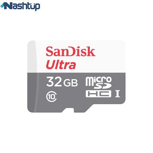 کارت حافظه سن دیسک مدل Ultra A1 با ظرفیت 32 گیگابایتی به همراه آداپتور SD