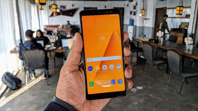 قاب گوشی a8 plus 2018