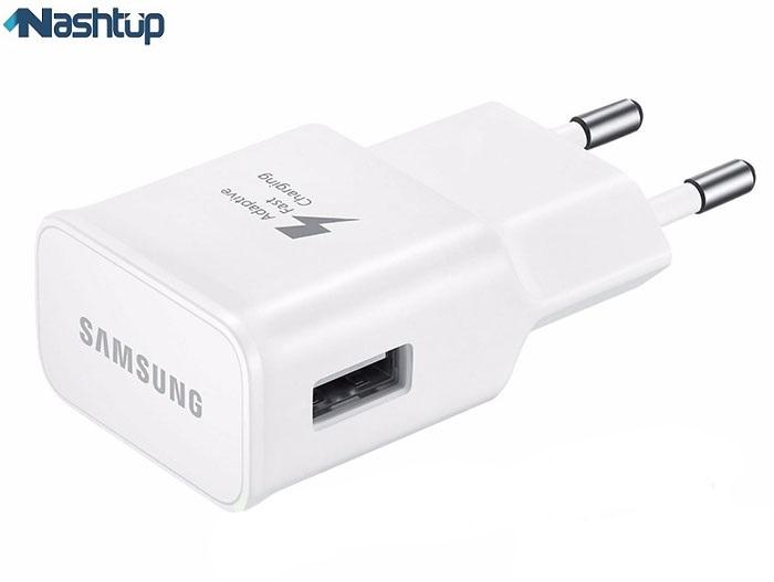 شارژر اصلى سريع همراه با كابل type c سامسونگ گوشى Samsung Galaxy A20